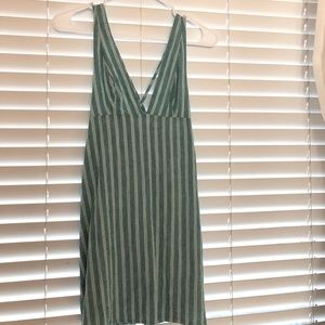 URBAN OUTFITTERS deep v neck dress
